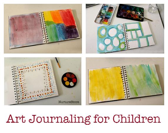 art journaling for children