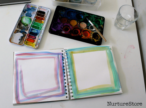 art journalling with children