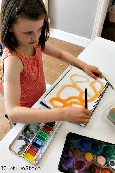 children's art journals