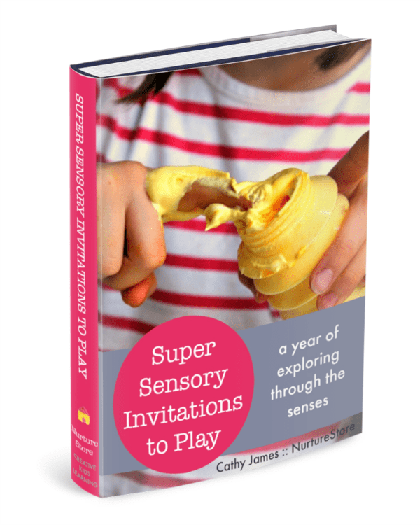 Super sensory invitations to play - a whole year of sensory play ideas!