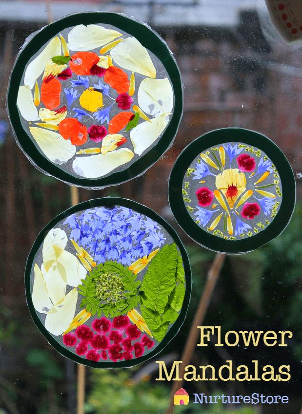 flower mandala designs for kids