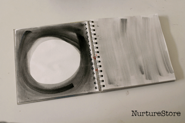 homemade art journal