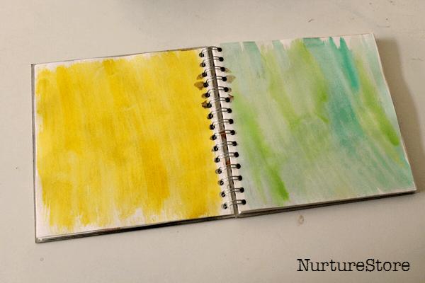 kids art journal ideas