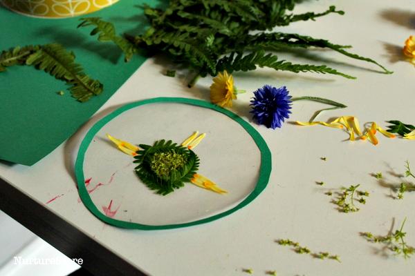 mandala craft for kids