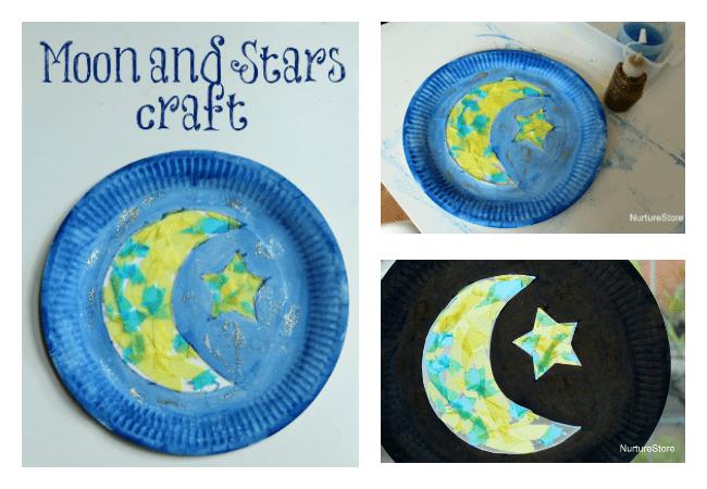 ramadan craft crescent moon craft