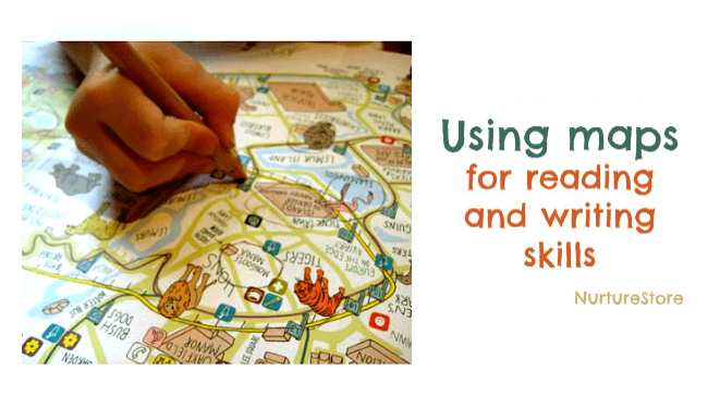 using maps for storytelling