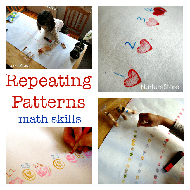 repeating patterns math skills