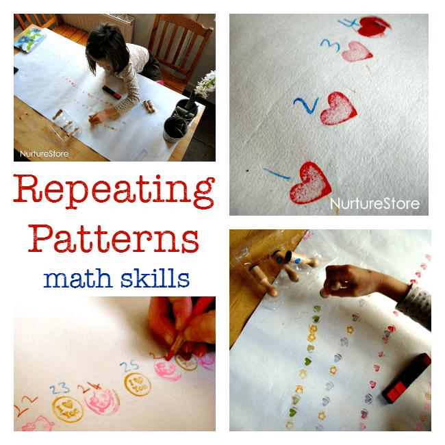 repeating patterns math skills