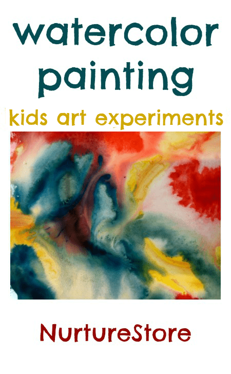 Watercolour painting projects for children