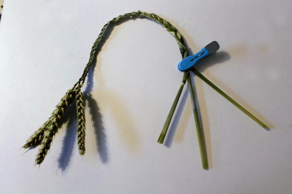 how to make a corn braid