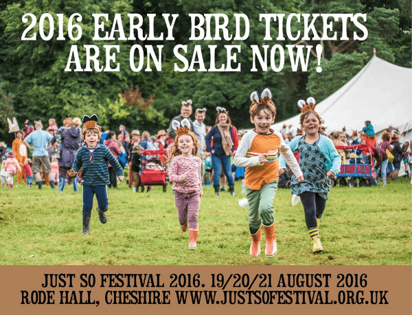 just so early bird tickets