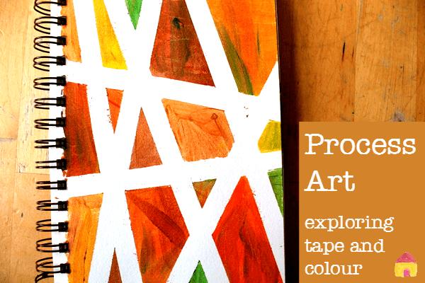 process art exploring color