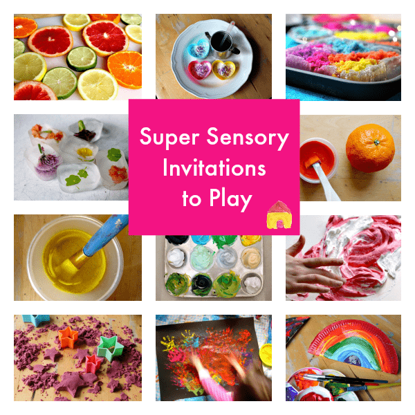 super sensory collage