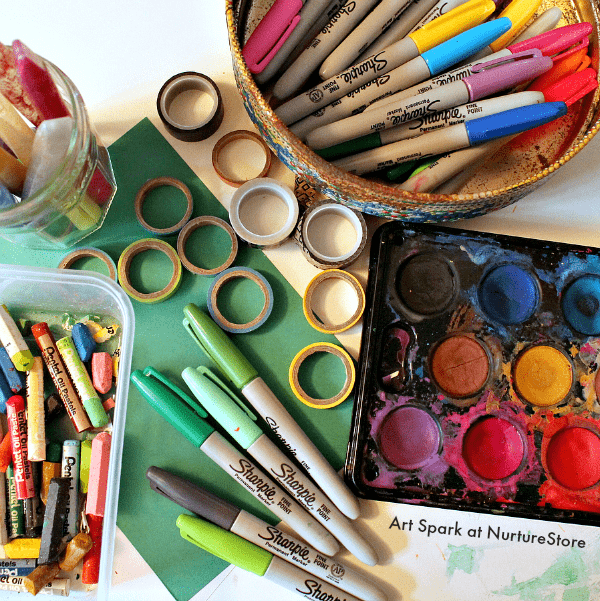 The a to z of the best art materials for children free for Waste material art for kids