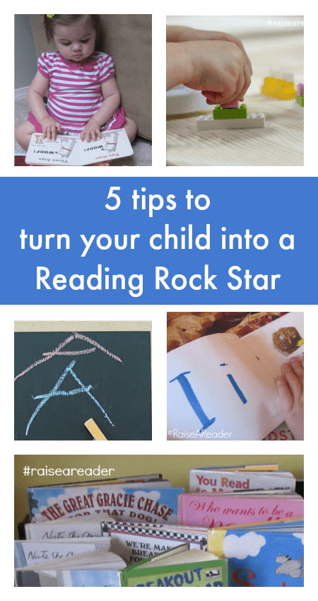 Fun ideas to teach your child to read :: learn to read tips
