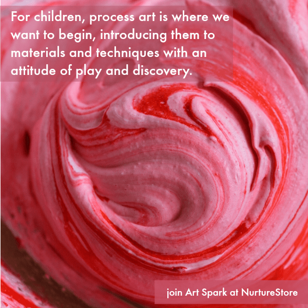 the benefits of process art