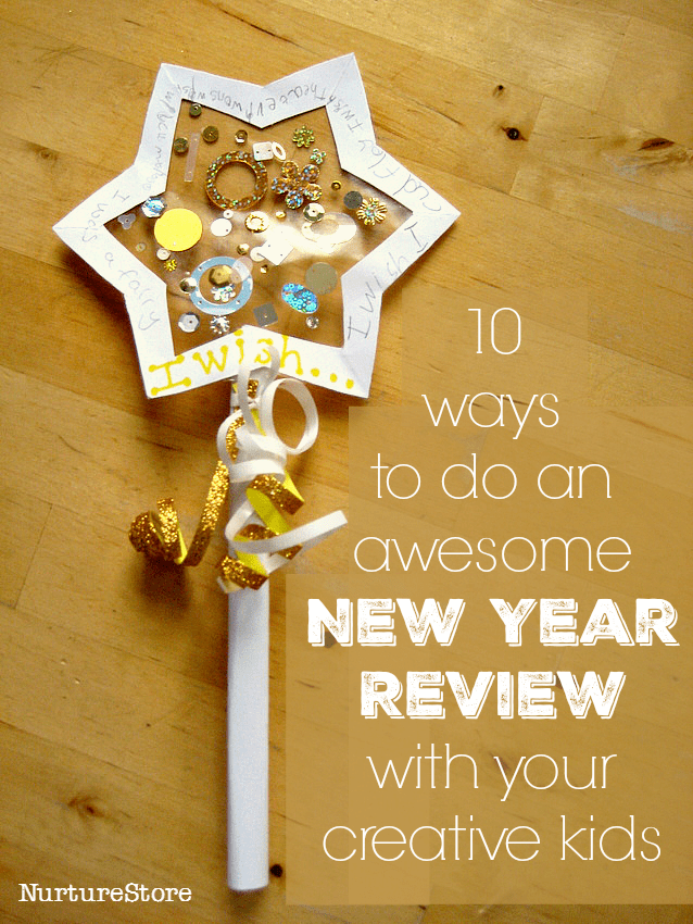 How To Do An Awesome New Year Review With Your Creative