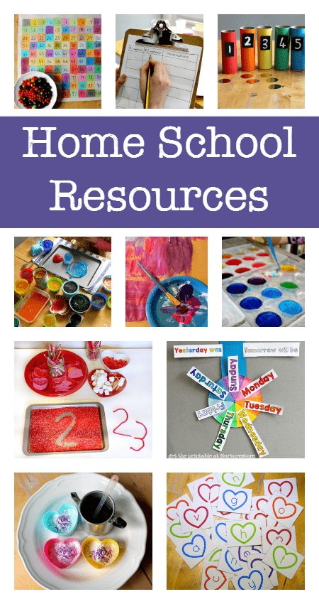 100s of free homeschool resources and printables