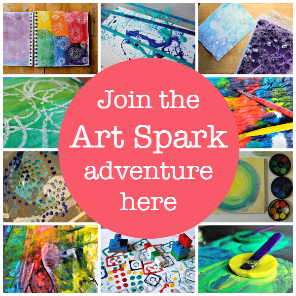 click to join the art spark adventure