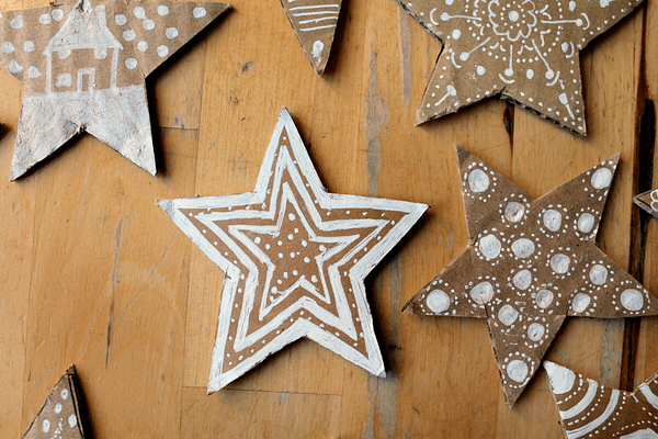 simple star decoration