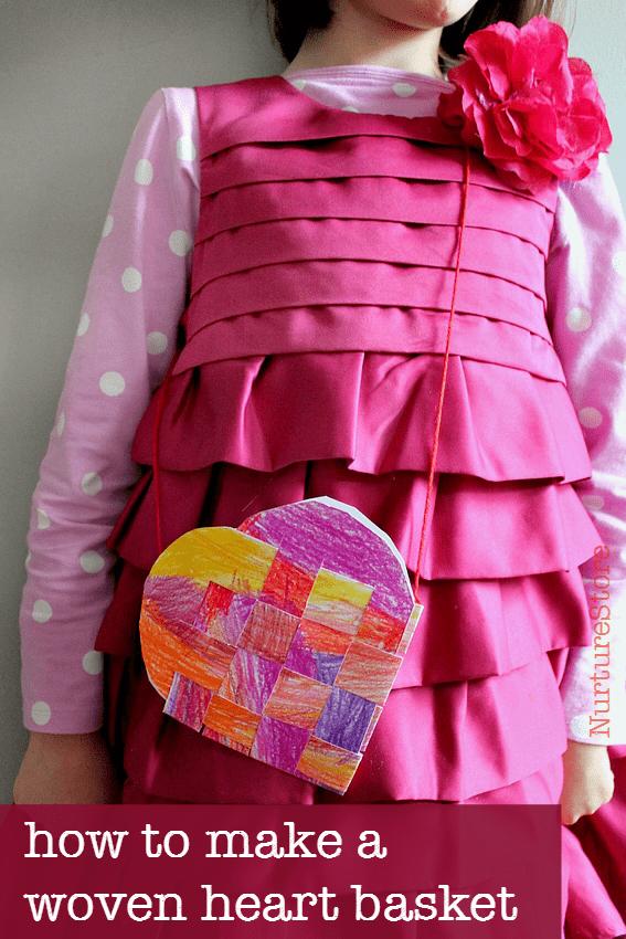 Woven Heart Basket Craft : Weaving archives nurturestore