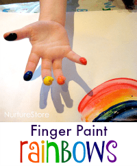 fingerpaint rainbows 200