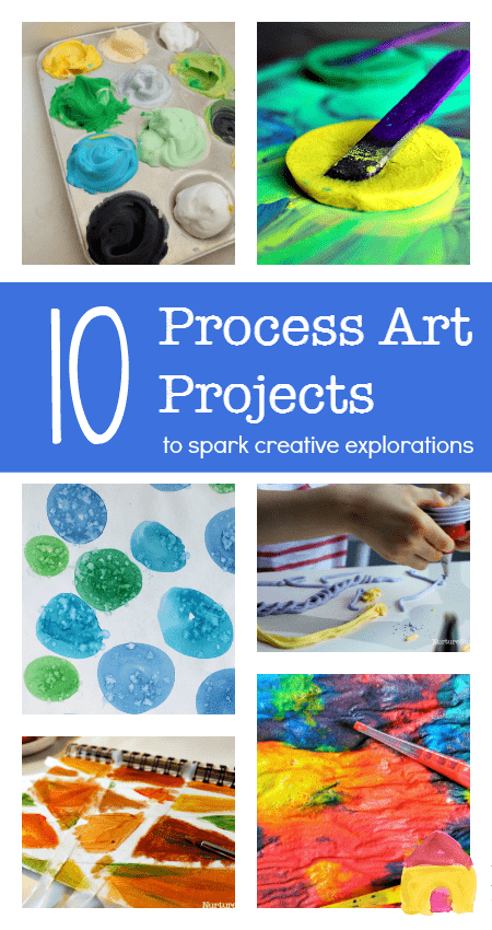 Creative eprocess art projects for children