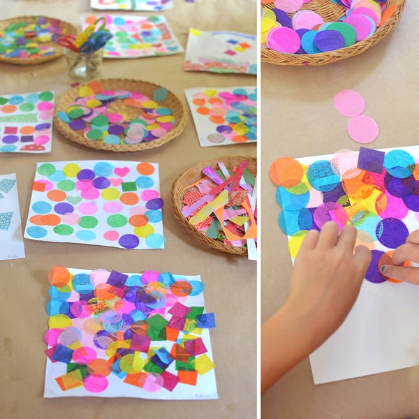 art and math shape project