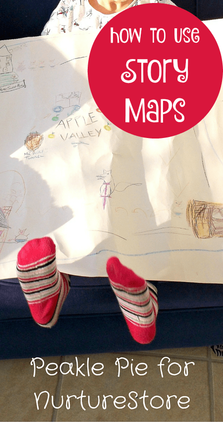 How to use story maps for a fun, play-based storytelling activity for young children