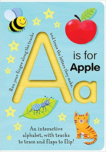 A Is for Apple (Trace-and-Flip Fun!)