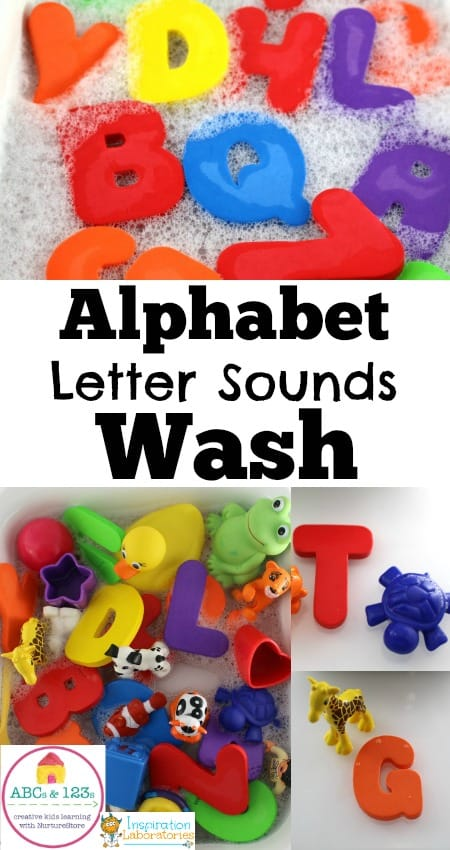 Alphabet Letter Sounds Wash