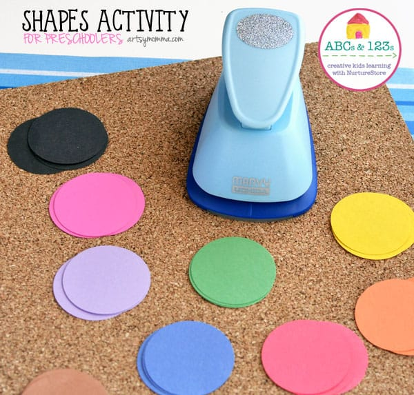 shapes activity for preschoolers