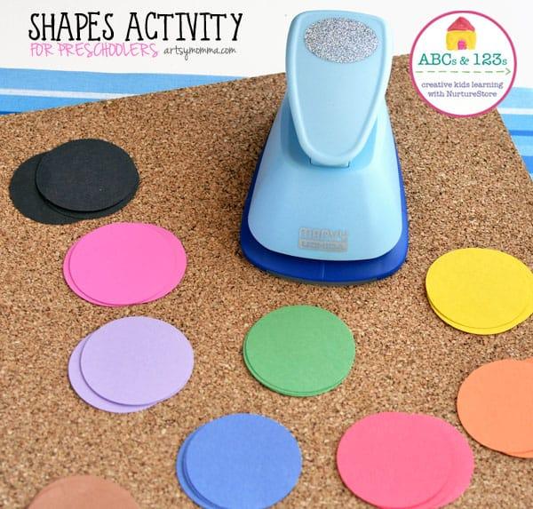 shapes activity for preschoolers