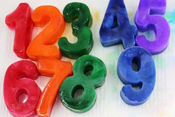 frozen numbers counting center ideas