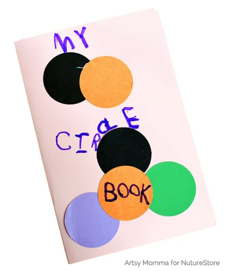 homemade shape book
