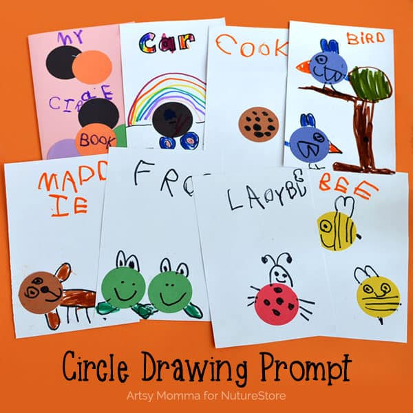 shapes investigation circle drawing prompt
