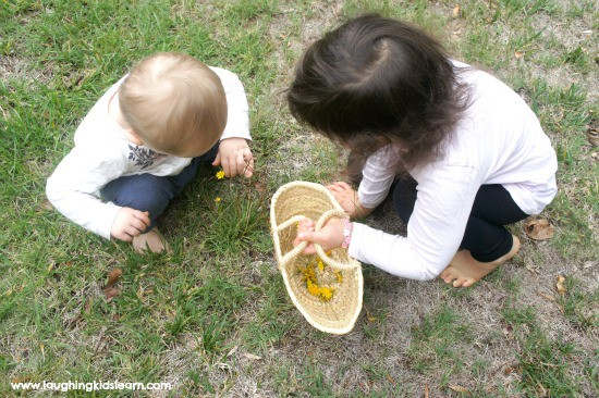 outdoor learning with nature