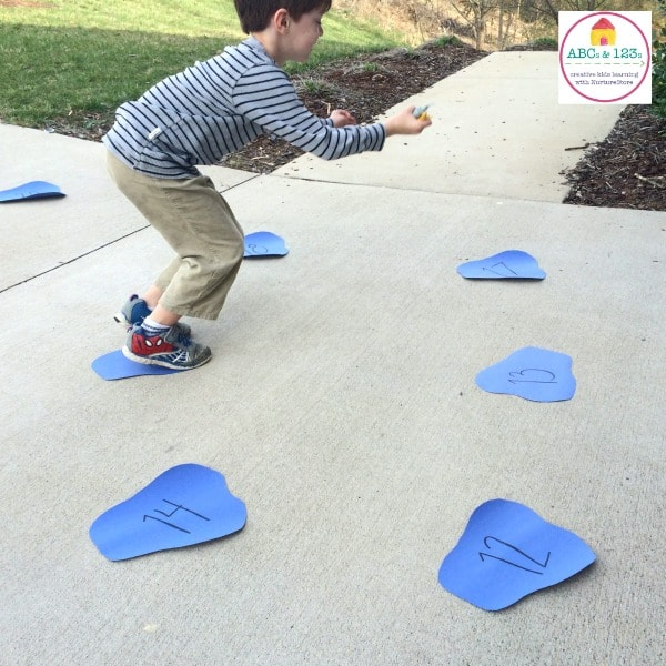 Puddle Jump Math Counting Game