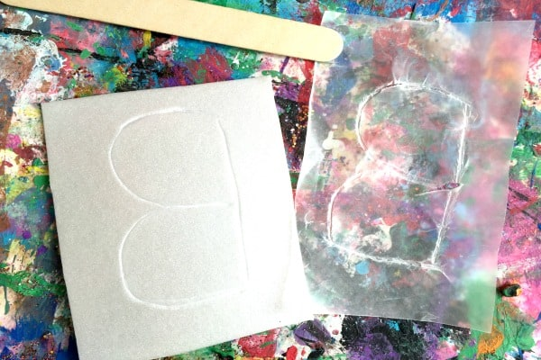 how to make letter prints