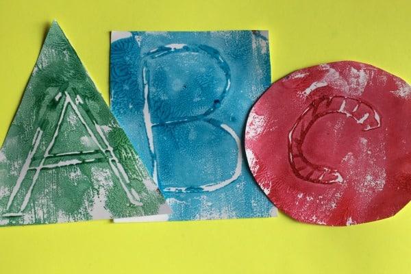 art alphabet project
