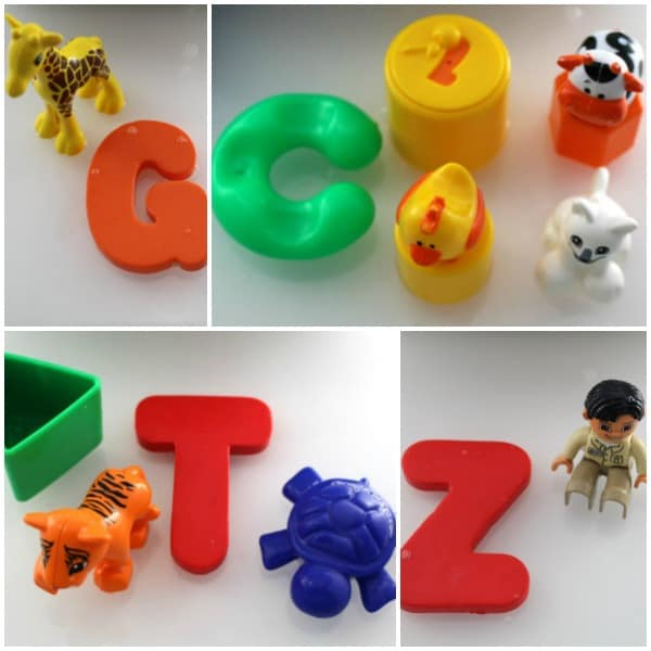 alphabet letter sounds matching activity