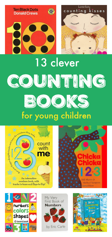 Fun and clever counting books for children - great number books for toddlers, preschool and young children. Great illustrations, tabs, flaps, and interactive elements.