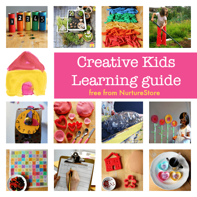 creative kids learning guide