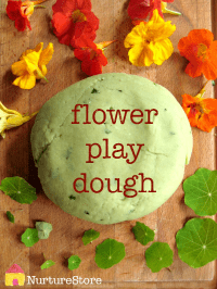flower-play-dough