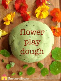 flower-play-dough