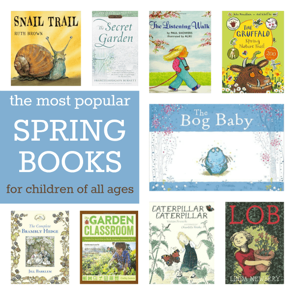 most popular spring books for children