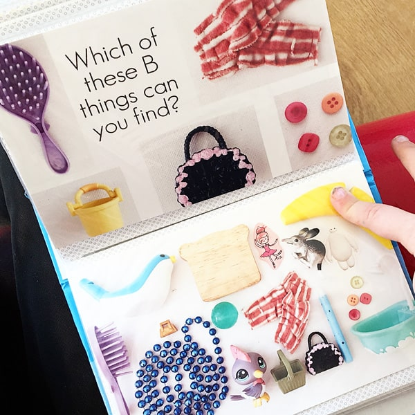 how to make a homemade I spy book