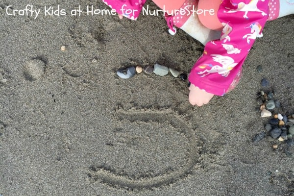 learning numbers with rocks