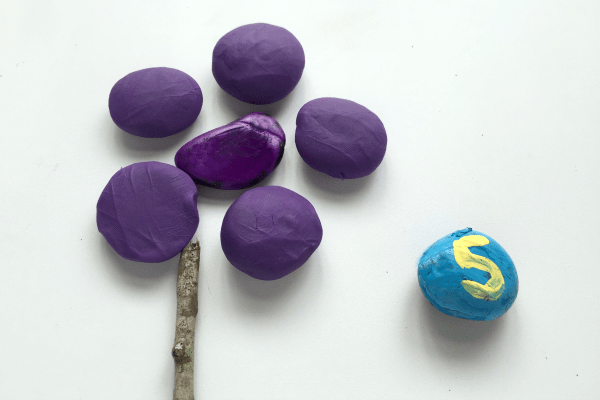 Playdough Flower Math Games