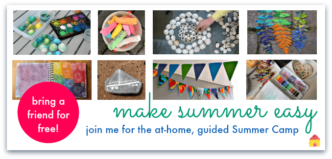 at home summer camp ideas